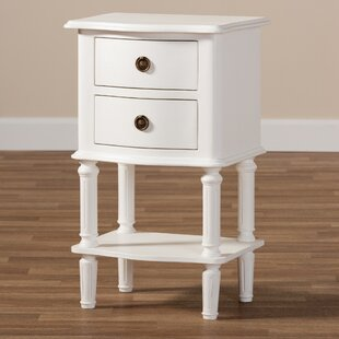 Amaryllis 2 Drawer Nightstand