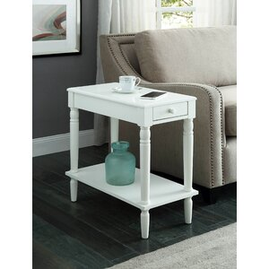 Carlisle End Table With Storage