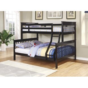 Aenwood Twin/Full Bunk Platform Bed by Harriet Bee