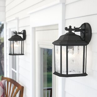 Burtt 1-Light Outdoor Wall..