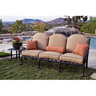Westhampton Patio Sofa with Sunbrella Cushions