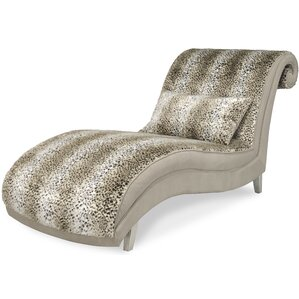 Hollywood Swank Chaise Lounge by Michael Amini (AICO)