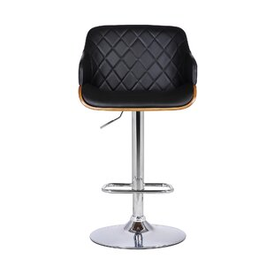 Jaxxon Adjustable Height Swivel Bar Stool