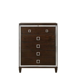 House of Hampton Alfaro 5 Drawer Chest
