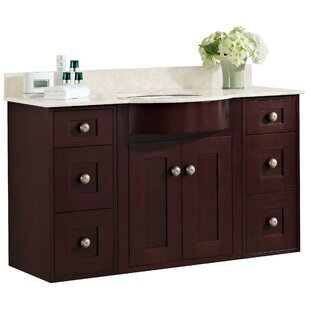 Kester 48 Transitional Wall Mount Vanity Base Set by Darby Home Co