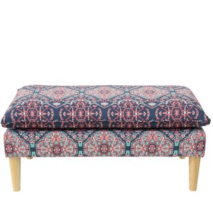 Alfaro Pillowtop Upholstered Bench by Bungalow Rose