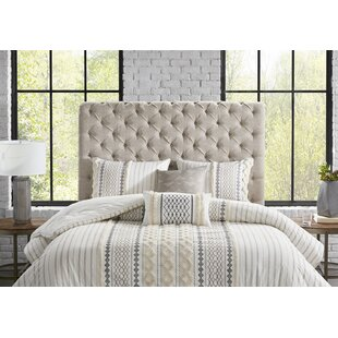 Idabel King Upholstered Panel Headboard by Laurel Foundry Modern Farmhouse