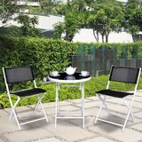 Abrom 3 Piece Bistro Set (Set of 3)