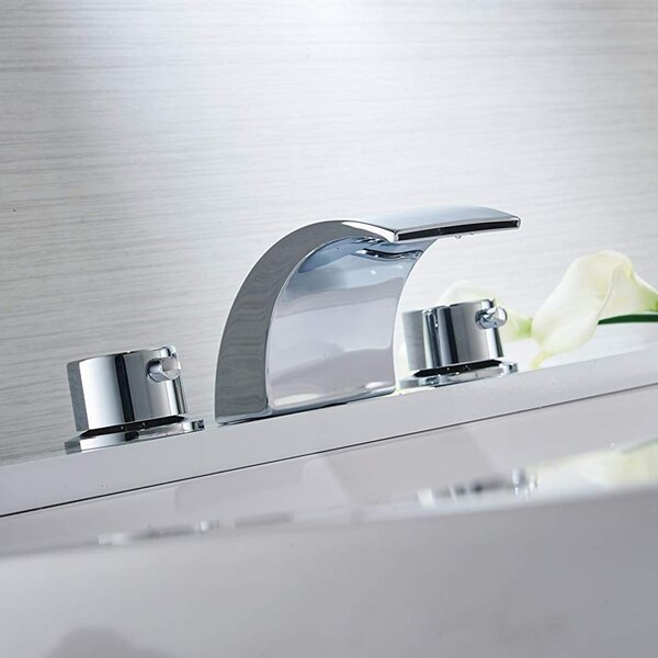 bathroom faucet with led light
