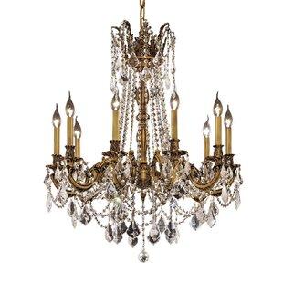 Astoria Grand Utica 10-Light Candle Style Chandelier