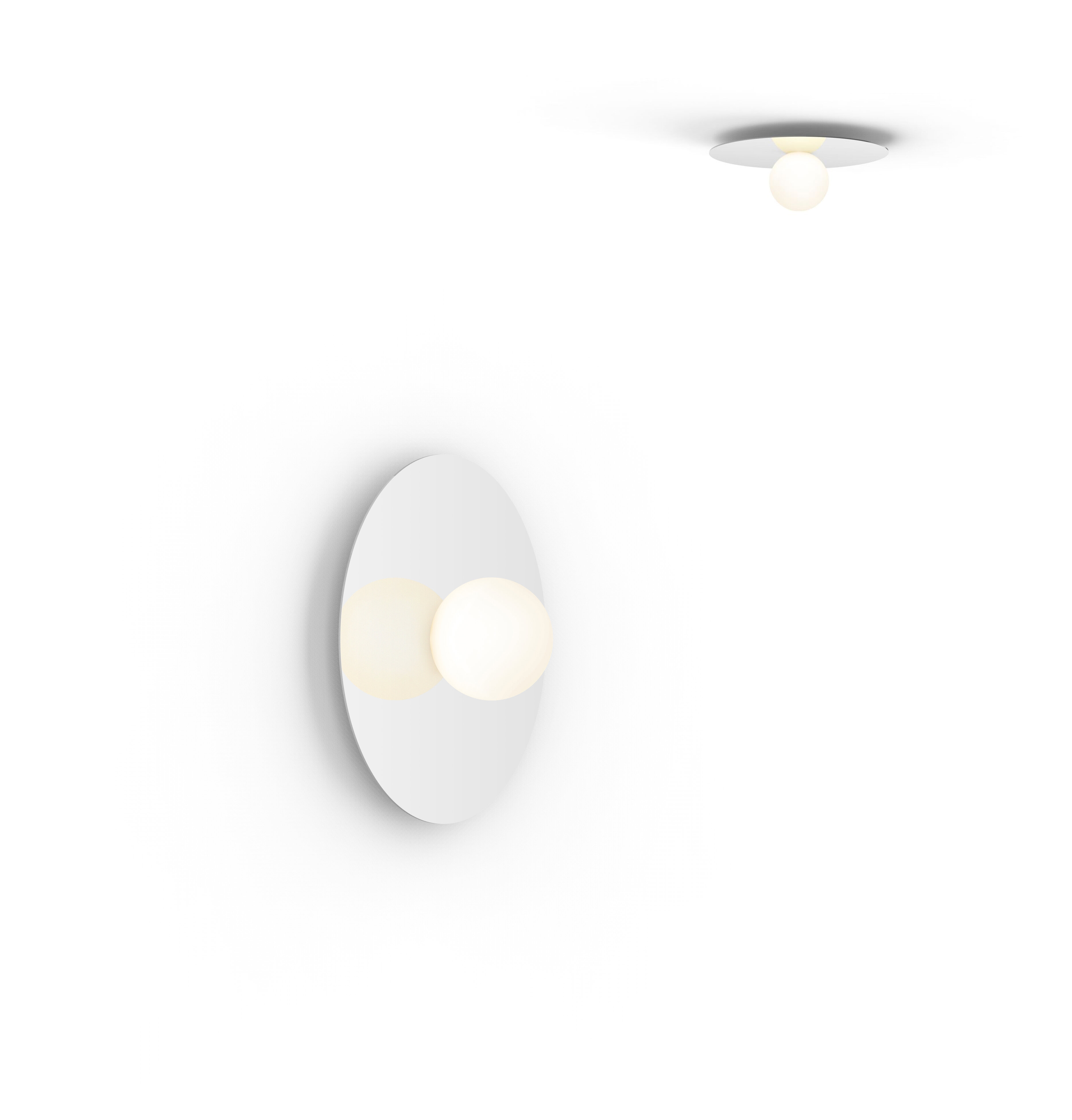 Pablo Designs Bola 1 Light Led Flush Mount Perigold