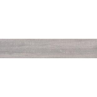 Belmond Pearl 8 X 40 Ceramic Wood Look Tile In White