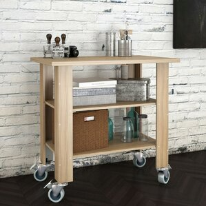 Serving Bar Cart by Nexera