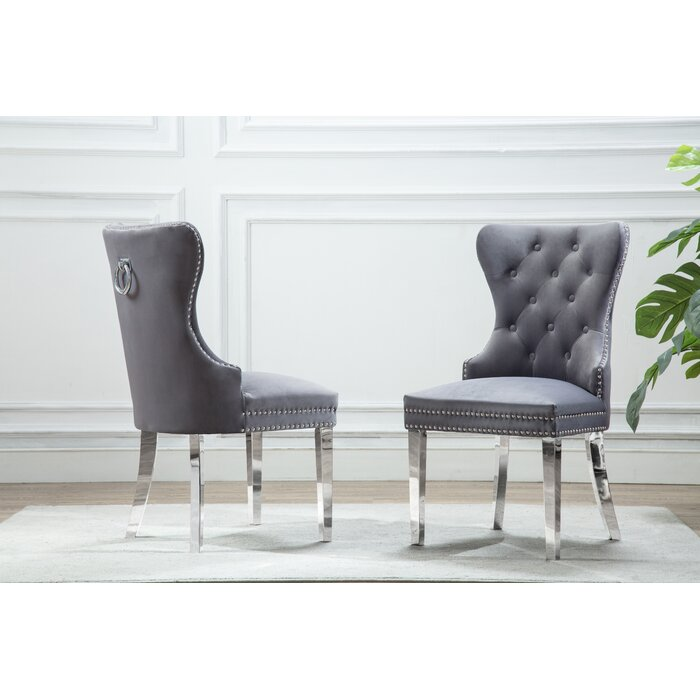 finest selection 7ffc7 82aea Zephyrine Upholstered Dining Chair