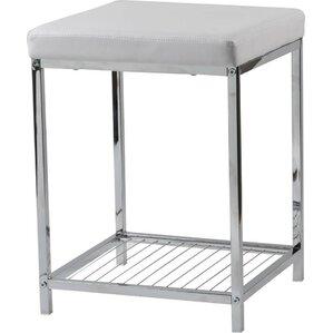 metal vanity stool