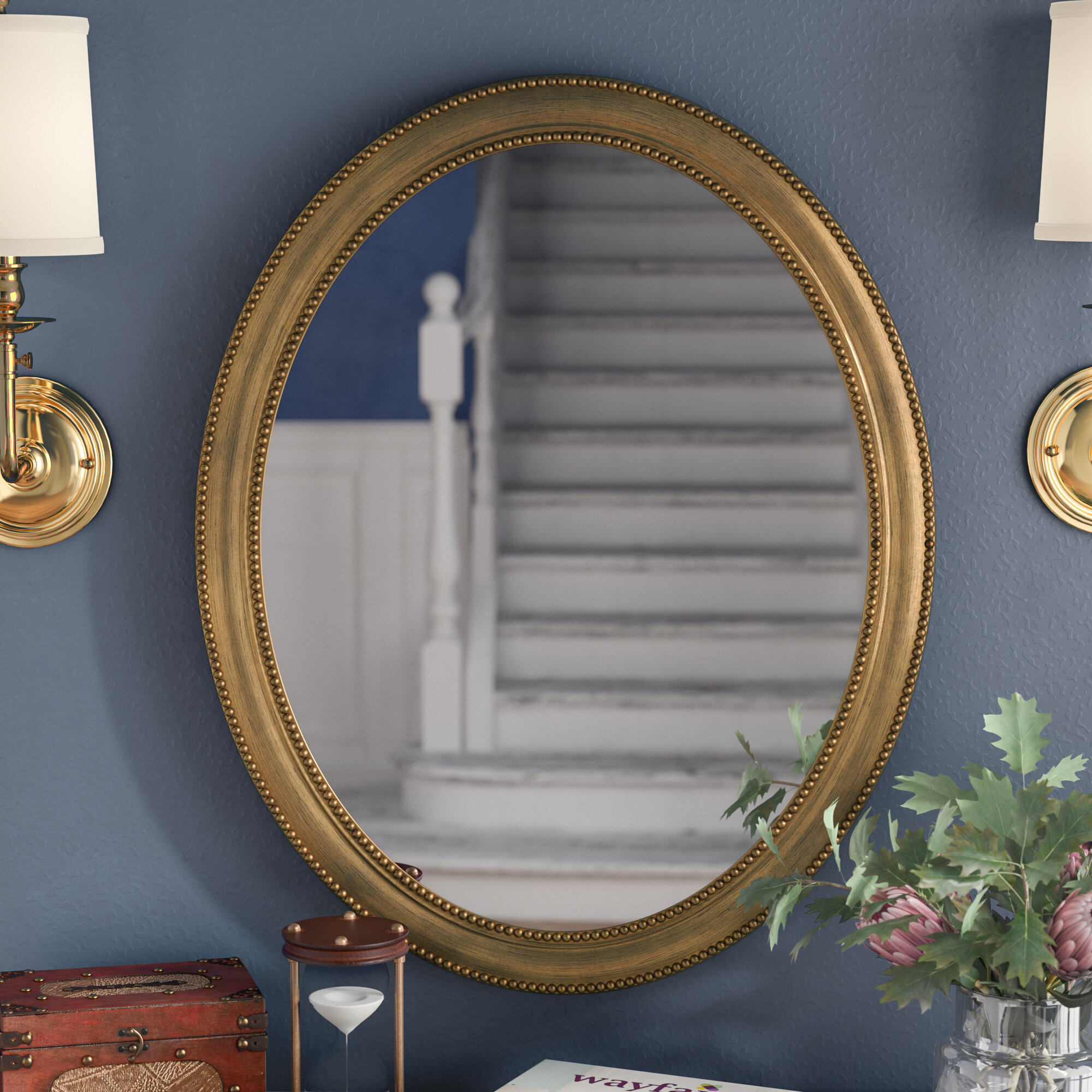 Gold Oval Mirrors You Ll Love In 2021 Wayfair
