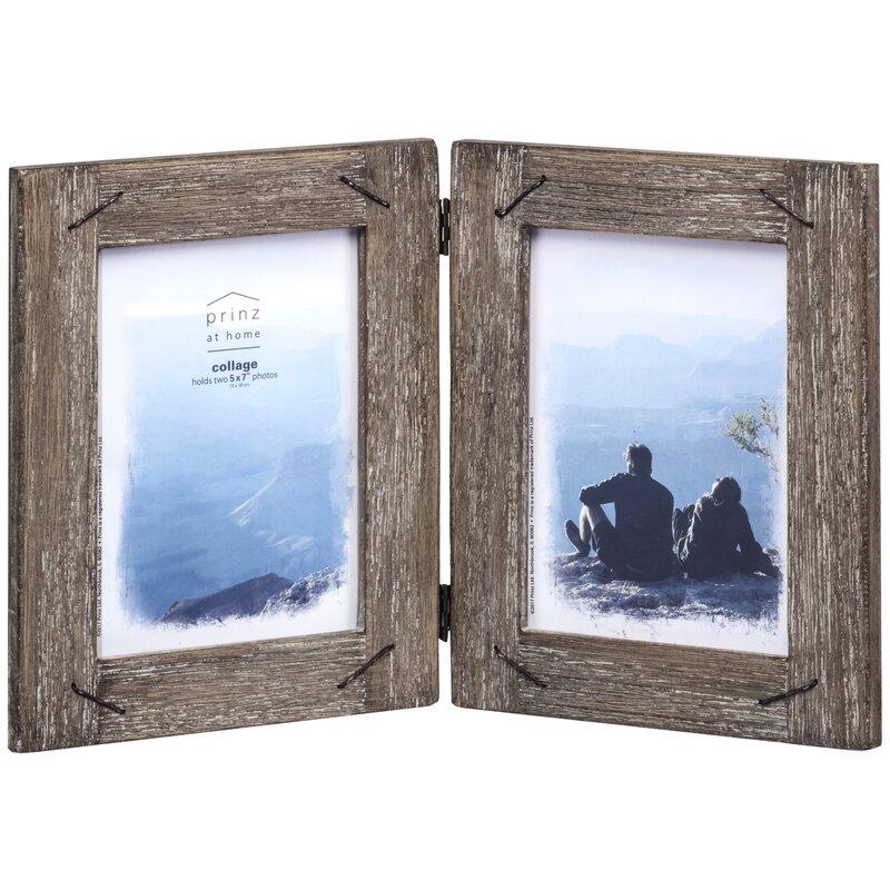 Prinz Barnswood Wood Hinged Picture Frame & Reviews | Wayfair