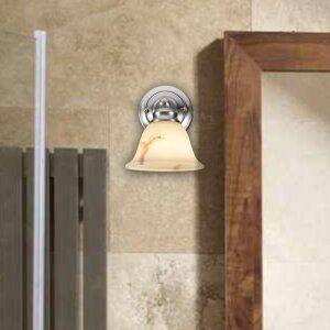 1-Light Bath Sconce by Aspen Creative Corporation