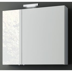Compare prices New Space Surface Mount Medicine Cabinet ByACF Bathroom Vanities
