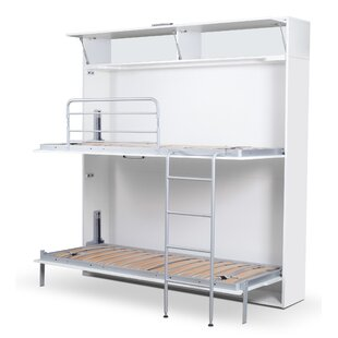 Read Reviews Sherlock Twin Bunk Bed with Mattress by Latitude Run Reviews (2019) & Buyer's Guide