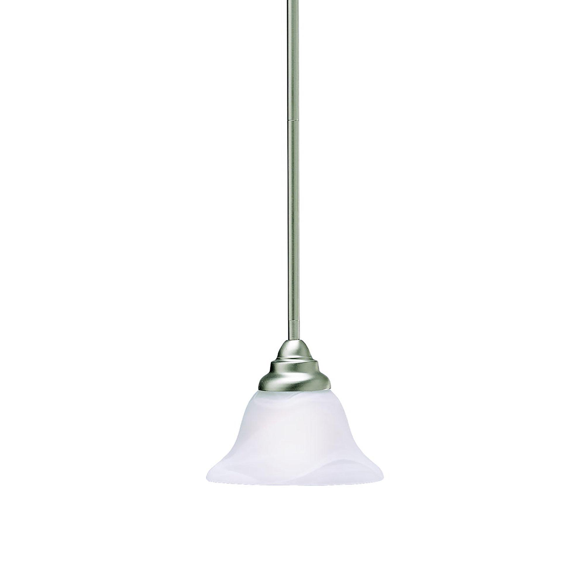 Red Barrel Studio Ruhlman 1 Light Single Bell Pendant Reviews Wayfair