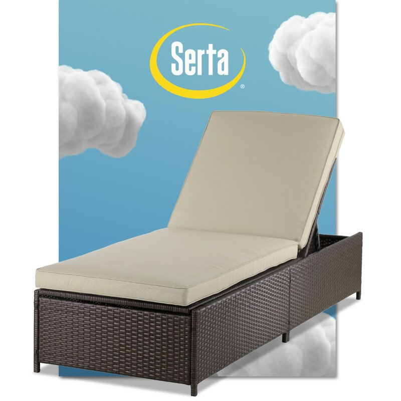 Laguna Outdoor Storage Chaise Lounge