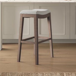 Duboce Upholstered 30'' Bar Stool Birch Lane™ Heritage