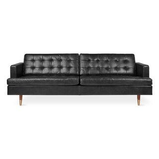 Archer Leather Sofa by Gus* Modern SKU:ED256364 Description