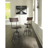 Yvette Swivel Adjustable Heigh Counter & Bar Stool (Set of 2) by Trent Austin Design®