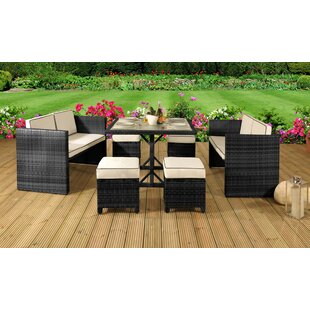 Essence 8 Seater Dining Set With Cushions By Sol 72 Outdoor