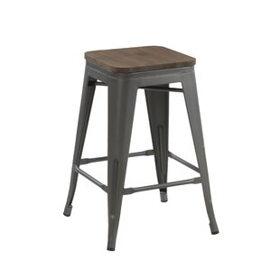 Cawthon 24 Bar Stool by Williston Forge
