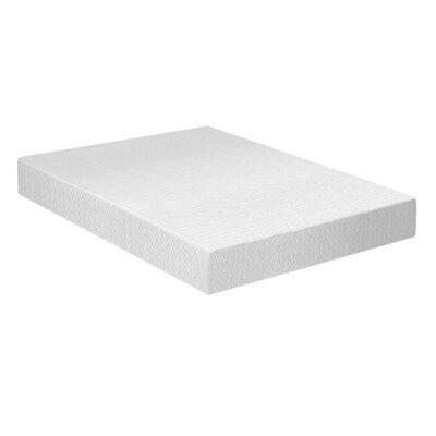 """Wayfair Sleep 8"""" Medium Memory Foam Mattress Mattress Size: Queen"""
