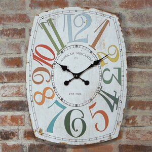 Oversized Home Essentials Whimsy Wall Clock