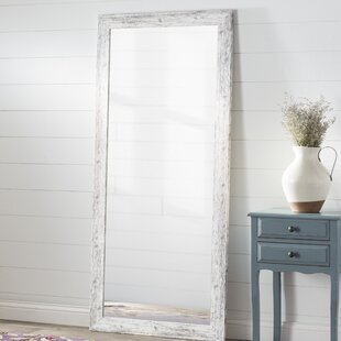 white floor mirror. White Weathered Handcrafted Farmhouse Wall Mirror Floor N