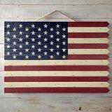 Wooden Americana Flag Wall Décor