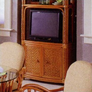 3300 New Twist Entertainment Center by South Sea Rattan
