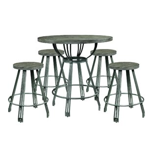 Farnsworth 5 Piece Counter Height Dining Set by Williston Forge