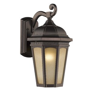 Fleur De Lis Living Hurlburt 1-Light Outdoor Wall Lantern