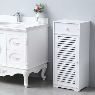 16 W x 35 H x 12 D FreeStanding Bathroom Cabinet by Dovecove