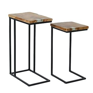 Tomberlin 2 Piece Nesting Table by Union Rustic