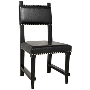 Kerouac Upholstered Dining Chair Noir