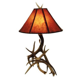 Allura Mule Deer Antler 3 Horn 25 Table Lamp Base