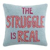 Hooked Wool Pillows Wayfair