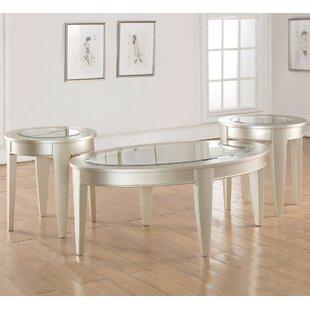 LYKE Home 3 Piece Coffee Table Set