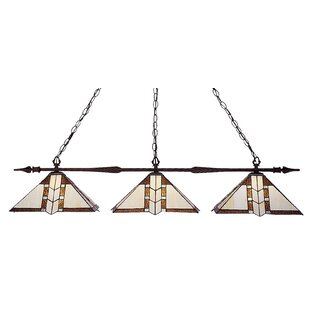 Fleur De Lis Living Beech Hill 3-Light Pool Table Lights Pendant