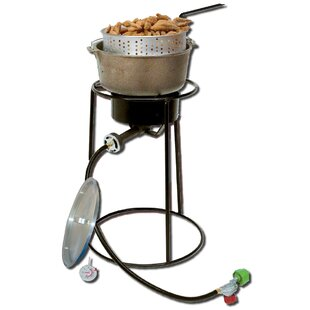 Outdoor Cooker Package with Cast Iron Pot