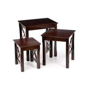 Toledo 3 Piece Nesting Tables Charlton Home