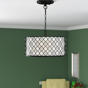 Jazmyn 3-Light Drum Chandelier