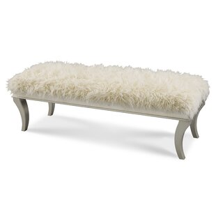Hollywood Swank Upholstered Bench