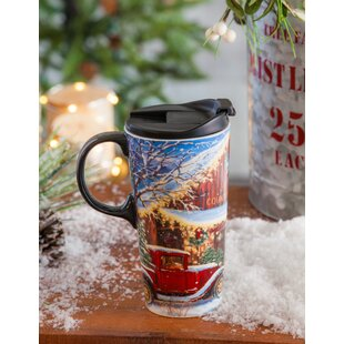 Maggie Holiday Farmhouse Travel Mug